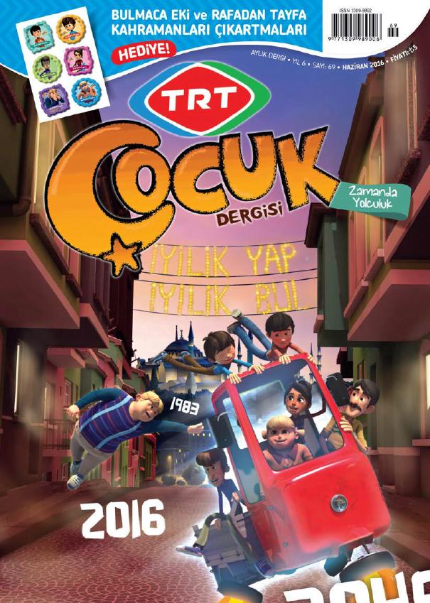 TRT Çocuk Haziran, 2016