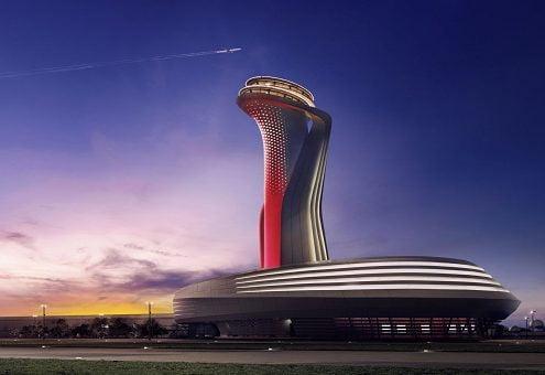 چرخ دستی در فرودگاه استانبول