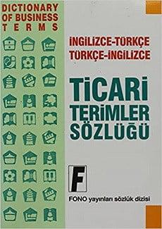 دیکشنری تجاری ترکی استانبولی